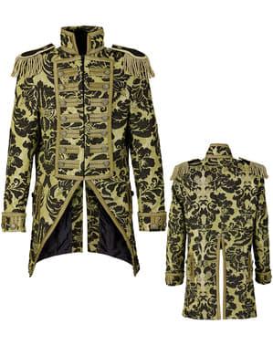 Gouden leeuwentemmer circus jas voor mannen