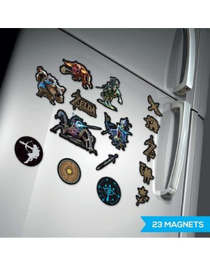 The Legend of Zelda fridge magnets