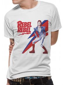 f9dbb03fde11 Rebel Rebel T-Shirt für Erwachsene - David Bowie
