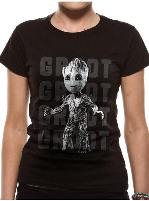 Camiseta de Groot adolescente para mujer - Guardianes de la Galaxia
