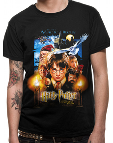 3a9e41745ef Harry Potter and the Philosopher Stone t-shirt for adults