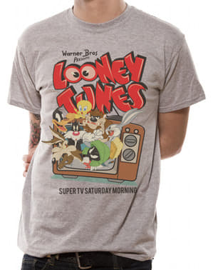 T-shirt Looney Tunes retro vuxen