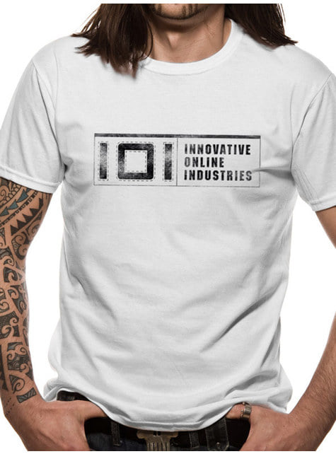 Ready Player One 101 Industries T-Shirt voor mannen