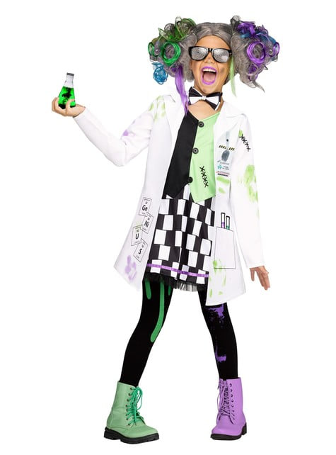 Crazy Scientist costume for girls