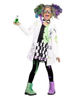 Dívčí kostým Bláznivý vědec