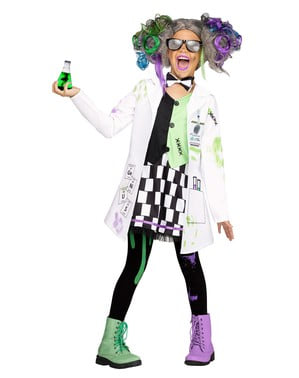 Vedec kostým pre dievčatá