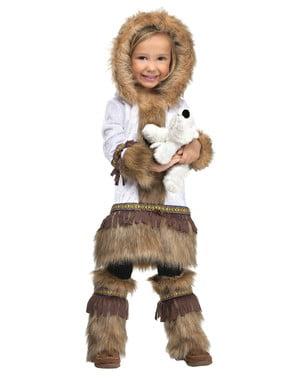 Eskimo kostyme til babyer
