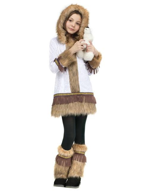 Disfraz de esquimal valiente para niña