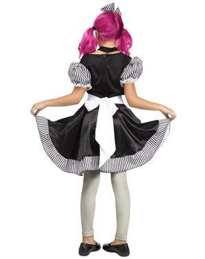 Kaputte Puppe Kostüm für Mädchen