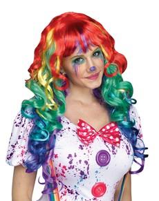 Clown Peruker  Komplettera din maskeraddräkt online  7171f00599e49
