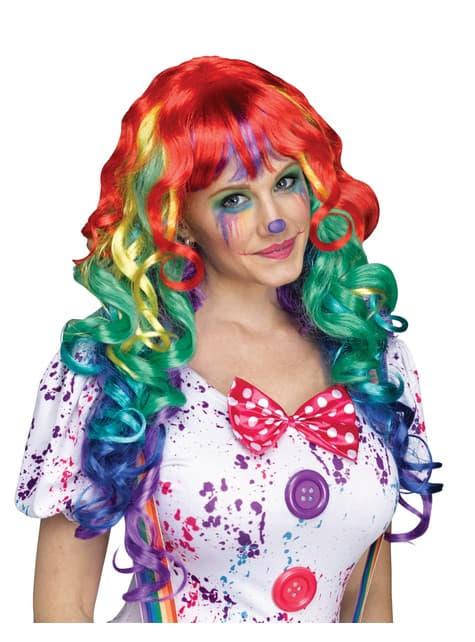 parrucca arcobaleno