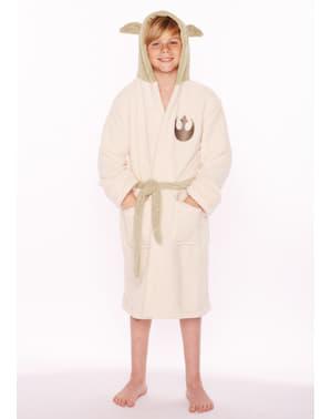 Albornoz de Yoda para niño - Star Wars