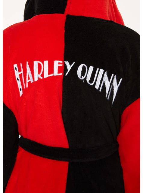 Albornoz de Harley Quinn para mujer