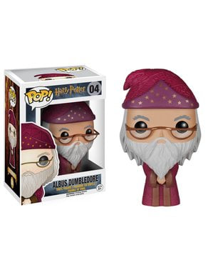 Funko POP! Albus Dumbledore (tunique Bordeau) - Harry Potter