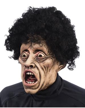 Máscara de grito aterrador para adulto
