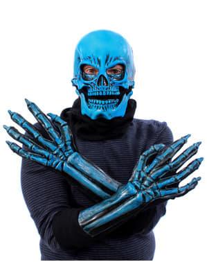 Kit de schelet albastru UV glow pentru adult