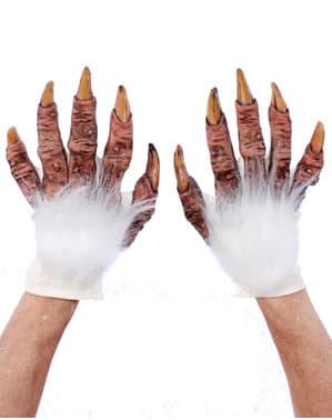 Handskar Yeti för vuxen