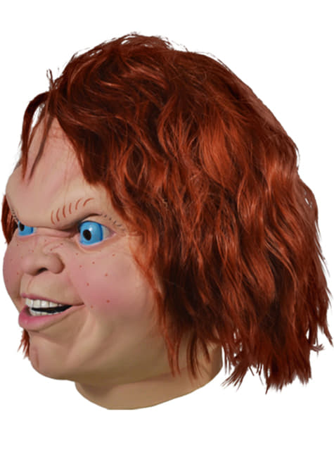 Chucky the Diabolic Doll mask for adults