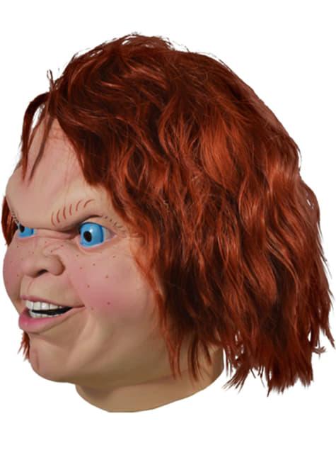 Máscara de Chucky el Muñeco Diabólico para adulto - para tu disfraz