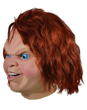 Чъки маска за диаболична кукла за възрастни