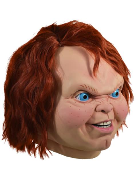 Máscara de Chucky el Muñeco Diabólico para adulto - original