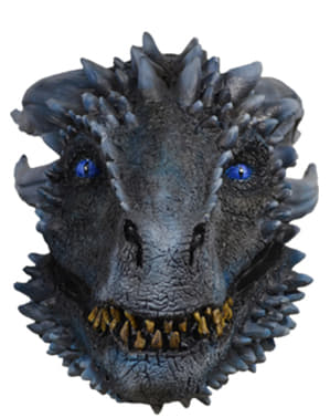 Dragon of the White Army masker voor volwassenen - Game of Thrones