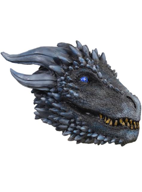 Máscara de Dragón del ejército blanco para adulto - Juego de Tronos - para tu disfraz