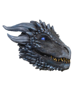 Dragon of the White Army mask for adults - Game of Thrones