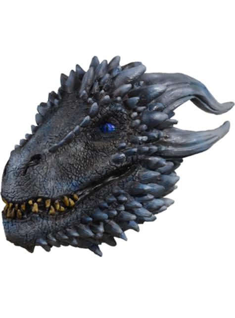 Máscara de Dragón del ejército blanco para adulto - Juego de Tronos - original
