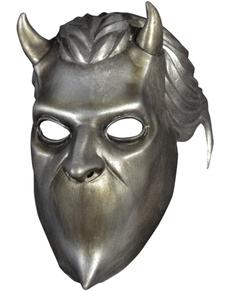 Máscara de Nameless Ghoul plateada para adulto - Ghost