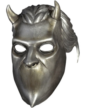 Silver Nameless Ghoul mask for adults - Ghost