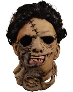 Máscara de Leatherface 1986 para adulto - Massacre no Texas