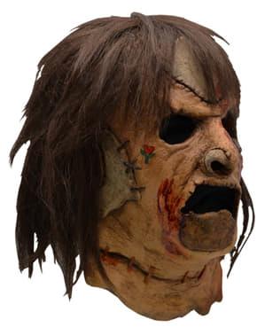 Maska Leatherface 1990 dla dorosłych - Teksańska masakra piłą mechaniczną