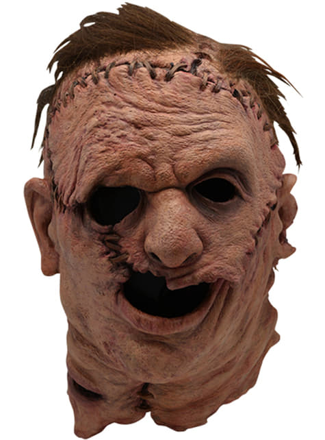 Máscara de Leatherface 2003 para adulto - Massacre no Texas