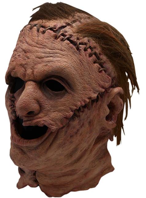 Máscara de Leatherface 2003 para adulto - La Matanza de Texas
