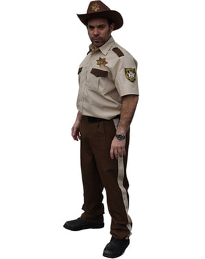Maskeraddräkt Sheriff Rick Grimes för vuxen - The Walking Dead