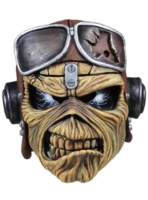 Máscara de Eddie de Aces High para adulto - Iron Maiden