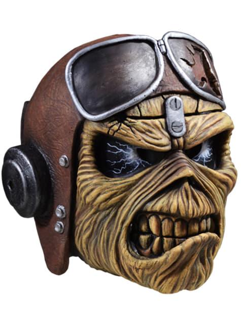 Máscara de Eddie de Aces High para adulto - Iron Maiden - para tu disfraz