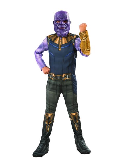 Fato de Thanos para menino - Vingadores Infinity War