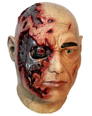 Maska cyborg dla dorosłych