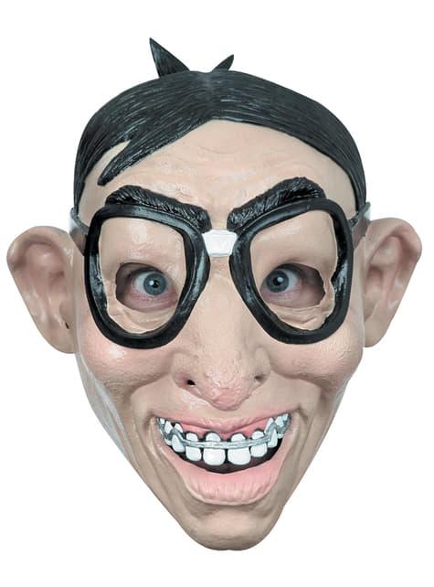Máscara de Nerd para adulto