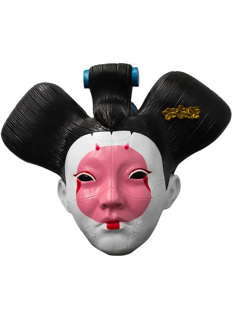 Máscara de Geisha para adulto - Ghost in the Shell