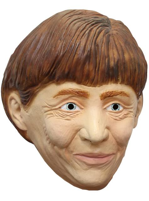 Máscara de Ángela Merkel para adulto