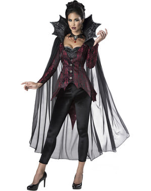 Gotický upírsky kostým pre ženy