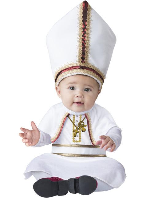 Disfraz de Papa para bebé