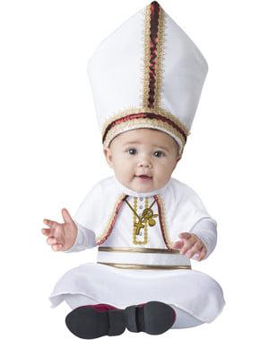 赤ちゃんのための教皇衣装