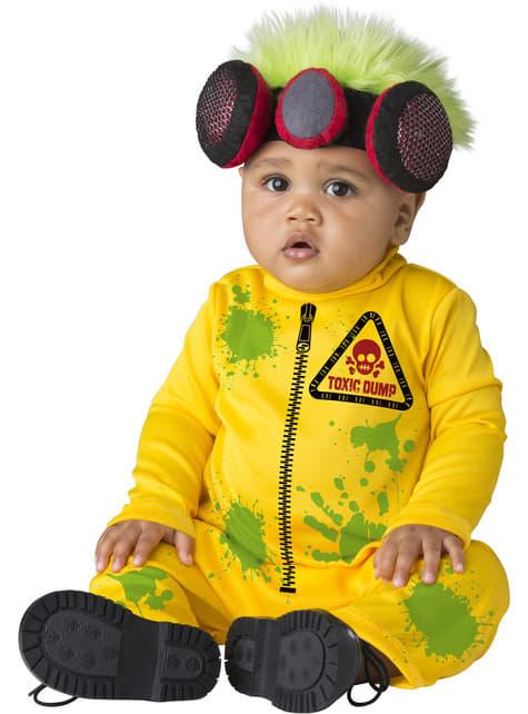 Disfraz de hombre radiactivo para bebé