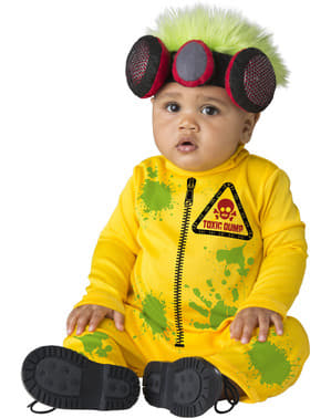 Radioaktiv Man kostyme til babyer