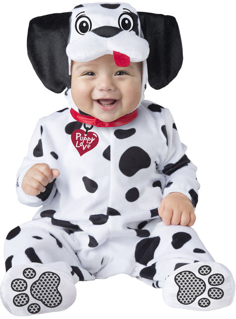 Adorable Dalmatian costume for babies