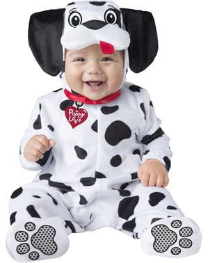 Strój uroczego dalmatyńczyka niemowlęcy